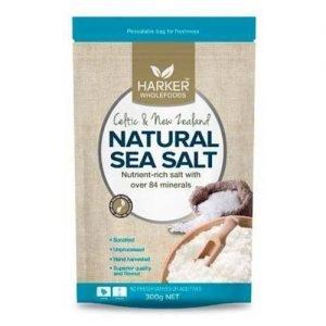 Harkers Natural Sea Salt 300G