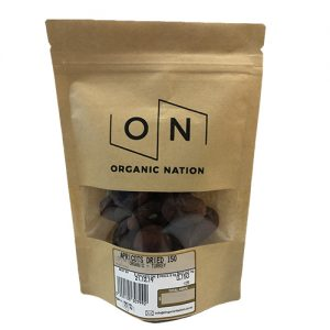 Organic Nation Apricots Dried 150G