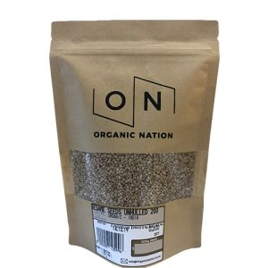 Organic Nation Sesame Seeds Unhulled 200G