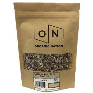 Organic Nation Dandelion Root Tea 70G