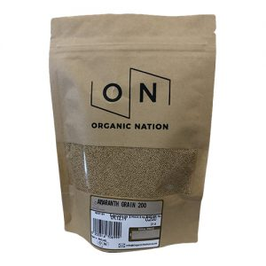 Organic Nation Amaranth Grain 200G