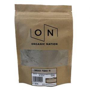 Organic Nation Burdock Powder 90G