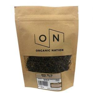 Organic Nation Green Tea 50G