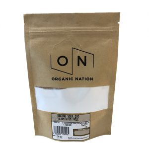 Baking Soda 200G Organic Nation