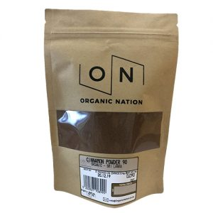 Organic Nation Cinnamon Powder 90G
