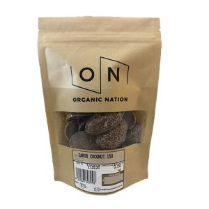 Carob Coconut 150G Organic Nation