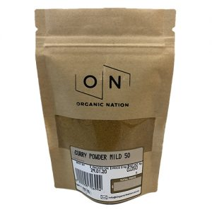 Organic Nation Curry Powder Mild 50G