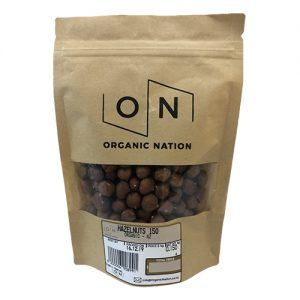 Organic Nation Hazelnuts 150G