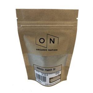 Organic Nation Burdock Powder 50G