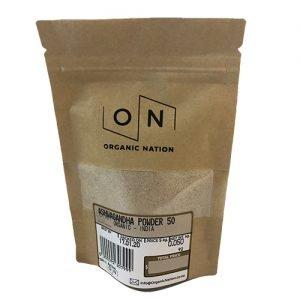 Organic Nation Ashwagandha Powder 50G