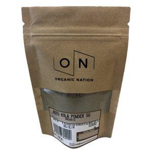 Organic Nation Gotu Kola Powder 50G