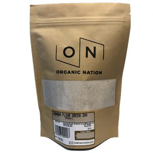 Organic Nation Banana Flour Green 200G