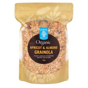 Chantal Organics Grainola Apricot Almond 750G
