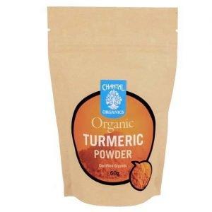 Chantal Organics Turmeric Powder 60G