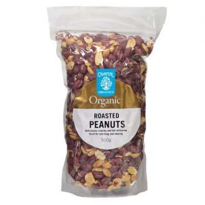 Chantal Organics Peanuts Roasted 450G