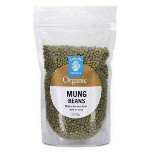 Chantal Organics Mung Beans 500G