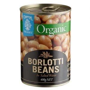 Chantal Organics Borlotti Beans 400G