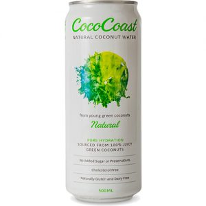 Cococoast Natural Coconut Water 500ML