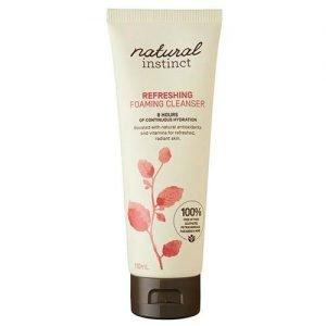 Natural Instinct Foam Facial Cleanse 110ML