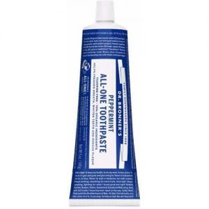 Dr Bronners Toothpaste Peppermint 140G