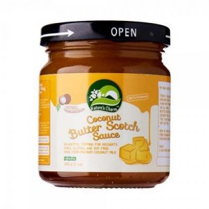 Natures Charm Coconut Butterscotch Sauce 200G