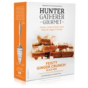 Hunter Gatherer Gourmet Feisty Ginger Crunch Slice Mix 300G