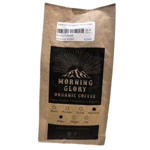 Morning Glory Organic Espresso Coffee 200G