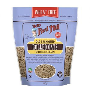 Bobs Red Mill Wheat Free Old Fashioned Rolled Oats Wholegrain 907G