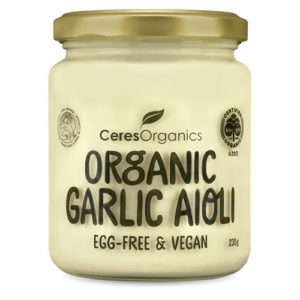 Ceres Organics Vegan Garlic Aioli 235G