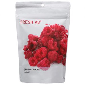 Fresh As Raspberry's Whole Organic 35G