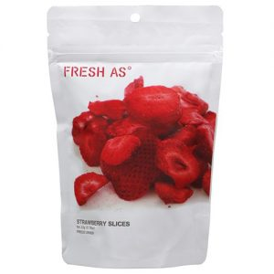 Fresh As Strawberry Slices Organic 22G