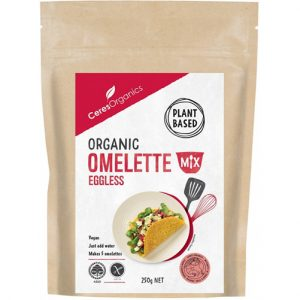 Ceres Organics Eggless Omelette Mix 250G