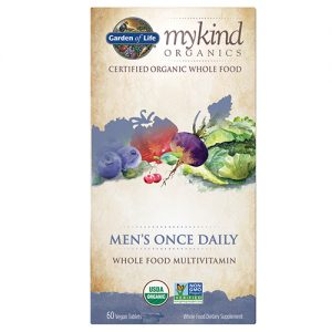 Garden Of Life My Kind Organics Mens Once Daily 60 Tablets
