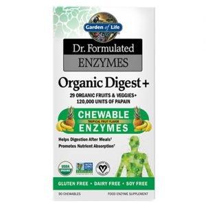 Garden Of Life Organic Digest Plus 90 Chews