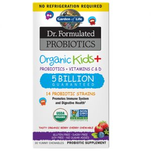 Garden Of Life Kids Plus Probiotic 30 Chews