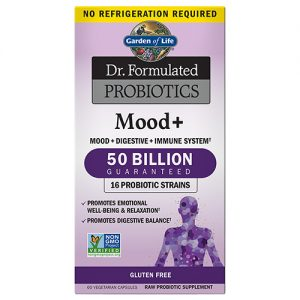 Garden Of Life Mood Plus Probiotic 60 Caps