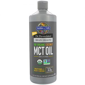 Garden Of Life Brain Health Mct Oil 32Oz