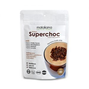 Matakana Superfoods Superchoc Hot/Cold Choc mix 260g