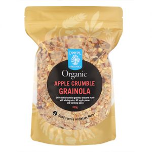 Chantal Organics Apple Crumble Granola 700G