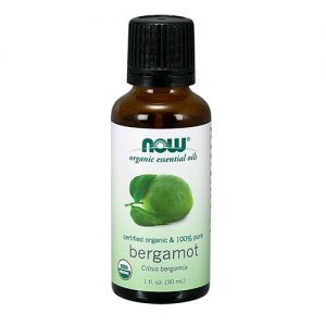 Now Organic Essential Oils Bergamot Oil 30ML