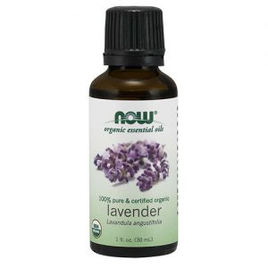 Now Organic Essential Oils Lavender Oil 30ML