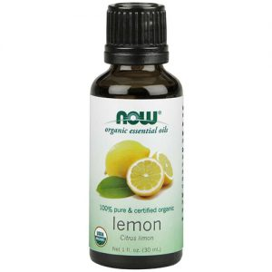 Now Organic Essential Oils Lemon Oil 30ML