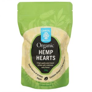 Chantal Organics Hemp Hearts Organic 200G