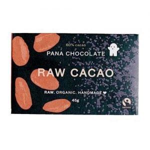 60% RAW CACAO CHOCLATE 45G