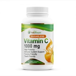 Pure Vitality Immune System Support Vitamin C 1000MG