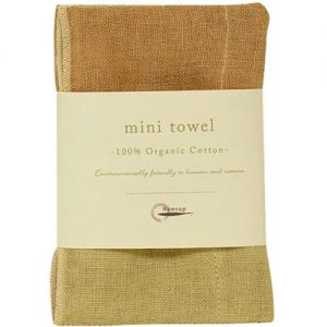 Nawrap Organic Mini Towel Grn/Brown