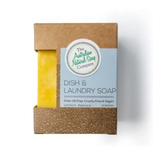 Australian Natural Soap Company Dish & Laundry Soap 100G