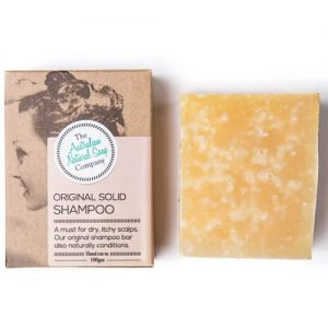 Australian Natural Soap Company Original Solid Shampoo 100G