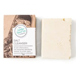 Australian Natural Soap Company Salt Cleanser Soap 100G