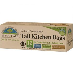 If You Care Tall Kitchen Bag 49.2L